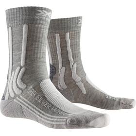 X-Socks Trek Silver Strømper Damer, dolomite grey melange/pearl grey